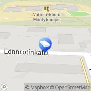 Kartta Rakennusliike Kuopion Rakennus ja Saneeraus Oy Kuopio, Suomi