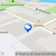 Kartta Oulun läänin sovittelutoimisto Kainuun aluetoimisto Kajaani, Suomi