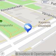 Kartta Asianajotoimisto Huttunen Harri Kajaani, Suomi