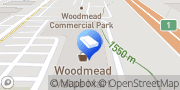Map Tile Africa Woodmead Woodmead, South Africa