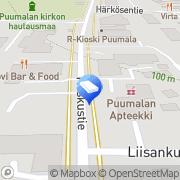 Kartta Juvan Tili Oy Puumala, Suomi