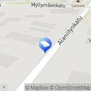Kartta Mainos-PainoDuo Lappeenranta, Suomi