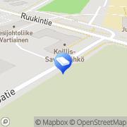 Kartta Koillis-Savon Sähkö Oy Juankoski, Suomi