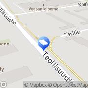 Kartta Joutsenon Rautakauppa Oy Joutseno, Suomi