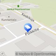 Kartta Tuusniemen Pankkitalo Kiinteistö Oy Tuusniemi, Suomi