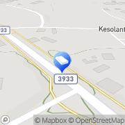 Kartta Joutsenon Sähköasennus Joutseno, Suomi