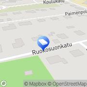 Kartta Kuorma-autoilija Paavilainen Raimo Imatra, Suomi
