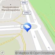 Kartta Imatran Ajokoulutuskeskus Oy Imatra, Suomi