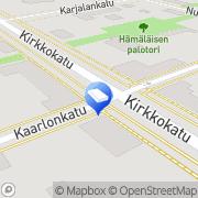 Kartta Kalle Lyytinen Oy Nurmes, Suomi