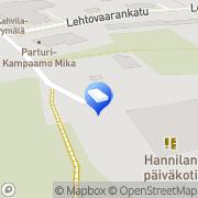 Kartta Nurmeksen kaupunki Hannilan päiväkoti Nurmes, Suomi