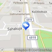 Kartta Parikkalan Liiketalo Oy Parikkala, Suomi