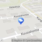 Kartta Rakennusliike S. Hiltunen Oy Lehmo, Suomi