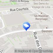 Carte de MARANDIN SA Lille, France