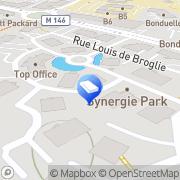 Carte de Doge Lezennes, France