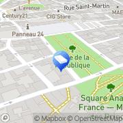 Carte de Bouvier-longeville Nathalie Nevers, France