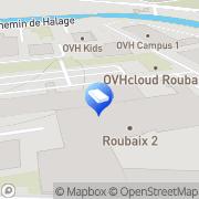 Carte de OVH TEST Roubaix, France