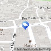 Carte de Maisons Babeau-seguin Provins, France