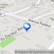 Carte de K Finance Auxerre, France