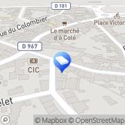 Carte de Square Habitat Laon, France