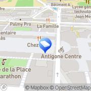 Carte de Philbo Anim's Montpellier, France