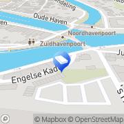 Kaart Van Pijkeren & Van Aken Advocaten Zierikzee, Nederland