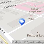 Kartta Asianajotoimisto Karhu Hannu Lieksa, Suomi