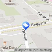 Kartta Asianajotoimisto Kontturi &  Co Oy Eno, Suomi