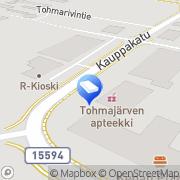 Kartta Asianajotoimisto Tuovinen &  Saastamoinen, Tohmajärven toimipiste Tohmajärvi, Suomi
