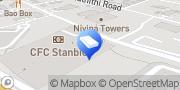 Map Regus Nairobi, Kenya