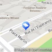Carte de DTS Reims, France