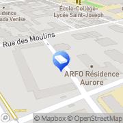 Carte de GR MECATECH GRM FERMETURES Reims, France
