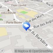 Carte de AJM Couverture Reims, France