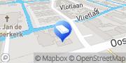 Kaart Informant Software B.V. Wateringen, Nederland