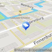 Kaart Allround movers Scheveningen, Nederland