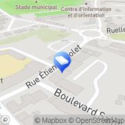 Carte de Cuif Emmanuel Rethel, France