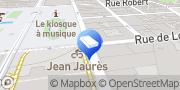 Carte de Agence d'Emploi Manpower Saint-Etienne BTP Saint-Étienne, France