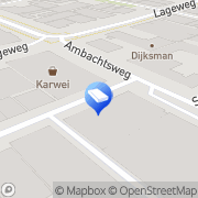 Kaart Outhands Internet IT & Media Katwijk, Nederland