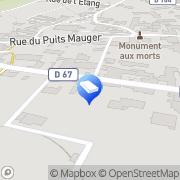 Carte de S.D. Maçonnerie Landreville, France