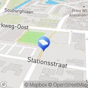 Kaart Kinderopvang Humanitas - Kinderdagverblijf De Boemel (GESLOTEN) Waddinxveen, Nederland