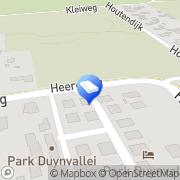 Kaart Sevenhuijsen Bouwbedrijf Schoorl, Nederland