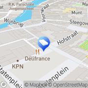 Kaart Houweling & Kars Advocaten Dordrecht, Nederland