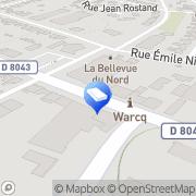 Carte de Aubade Espace Somatem Distributeur Warcq, France