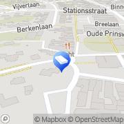 Kaart Min 2 Oostdorp, Nederland