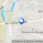 Kaart One Party Logistics Alkmaar, Nederland