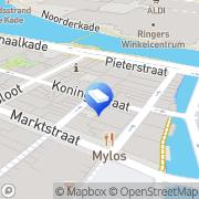 Kaart UBV Uitzendbureau Alkmaar, Nederland