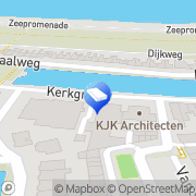 Kaart Excellent Wonen BV Den Helder, Nederland