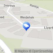 Kaart Roance Uitzendbureau Breda, Nederland