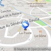 Carte de LAYHER Brignais, France