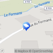 Carte de IMEDEX-BIOMATERIAUX Trévoux, France