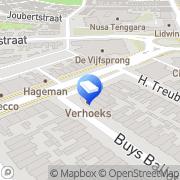 Kaart Keulen Makelaars BV van Den Helder, Nederland
